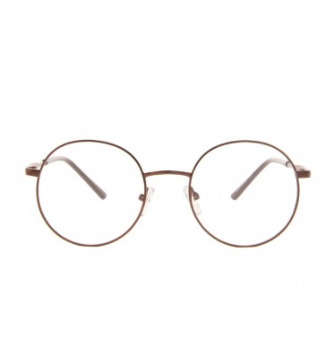 Copper Metal Round Frame Readers