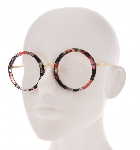 Floral Thick Rimmed Round Readers