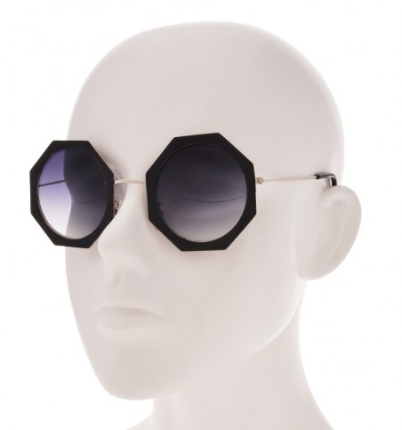 Black Polygon Sunglasses