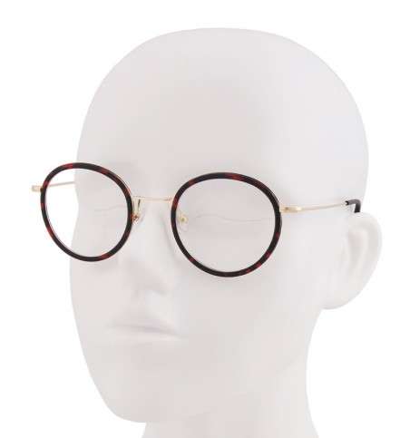 Red Tortoiseshell TR90 Round Glasses
