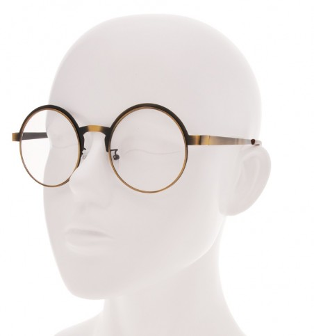 Kai Metal Round Glasses