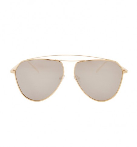 Pink High-Bar Aviator Sunglasses