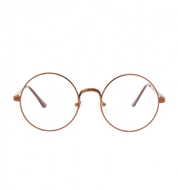 Copper Round Reader Glasses