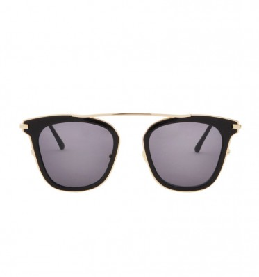 Black Top Bar Sunglasses