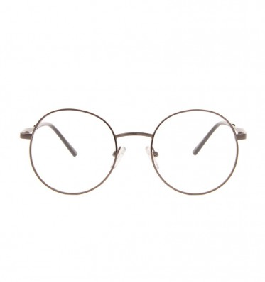Dark Grey Metal Round Frame Readers