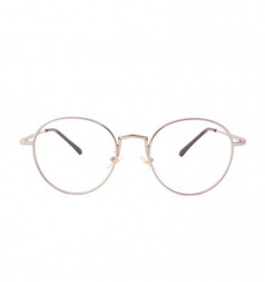 Alexis Grey Round Glasses