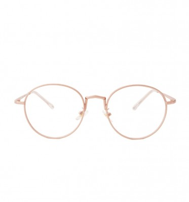 Alexis Pink Round Glasses