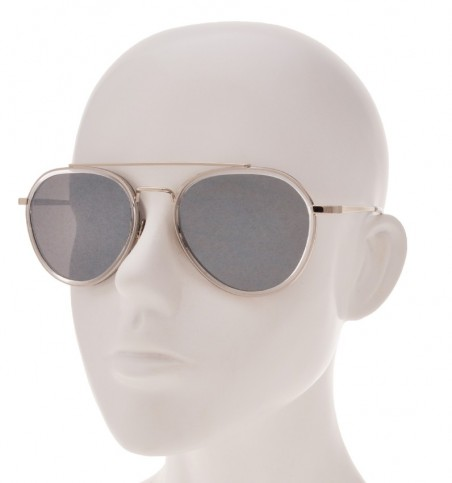 Liam Metallic Aviator Sunglasses