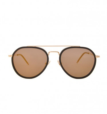 Liam Gold Aviator Sunglasses