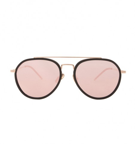 Liam Pink Aviator Sunglasses