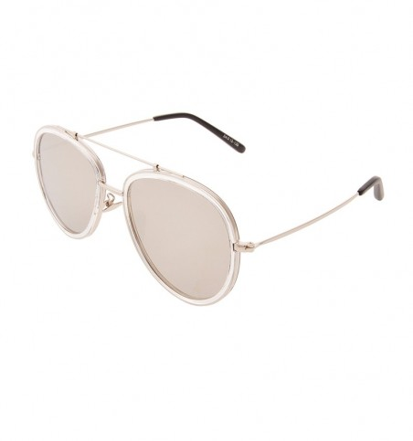 Luther Aviator Silver Sunglasses