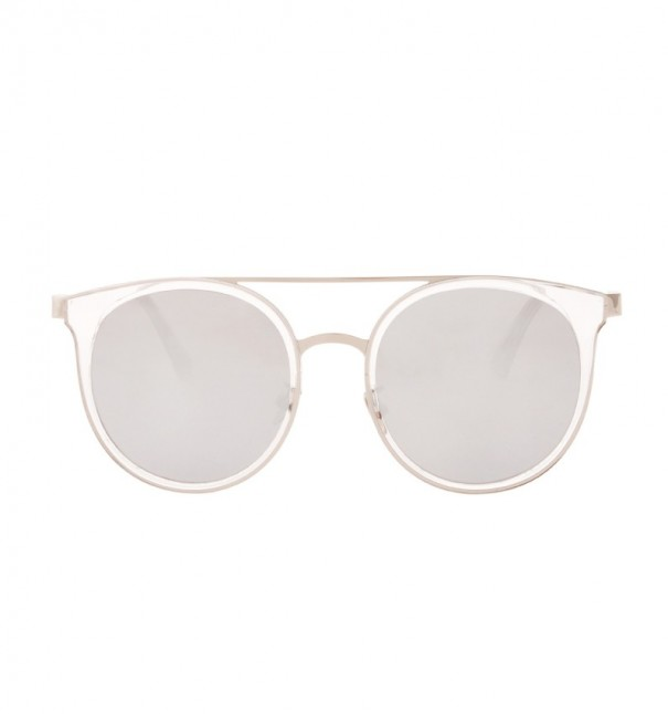 Harris Silver Cat Eye Sunglasses