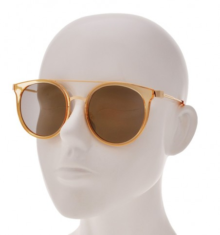 Harris Gold Cat Eye Sunglasses