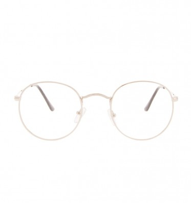 Linh Silver Round Glasses