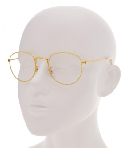 Minh Gold Slender Glasses