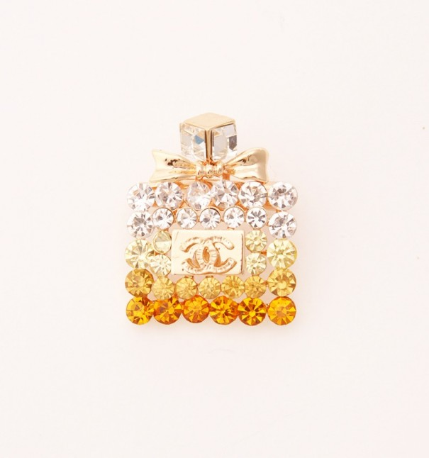 Perfume Bottle Brooch